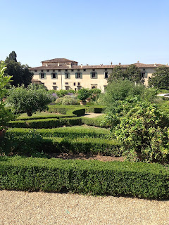 The Villa di Castello is set in extensive gardens