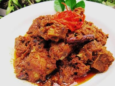 Resepi Rendang Ayam Padang