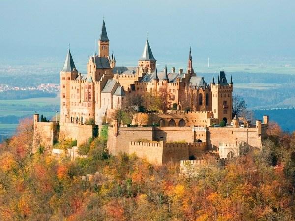 Hohenzollern castle near stuttgart