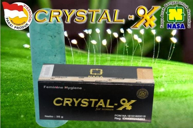 Natural Crystal X Pembersih organ vital wanita