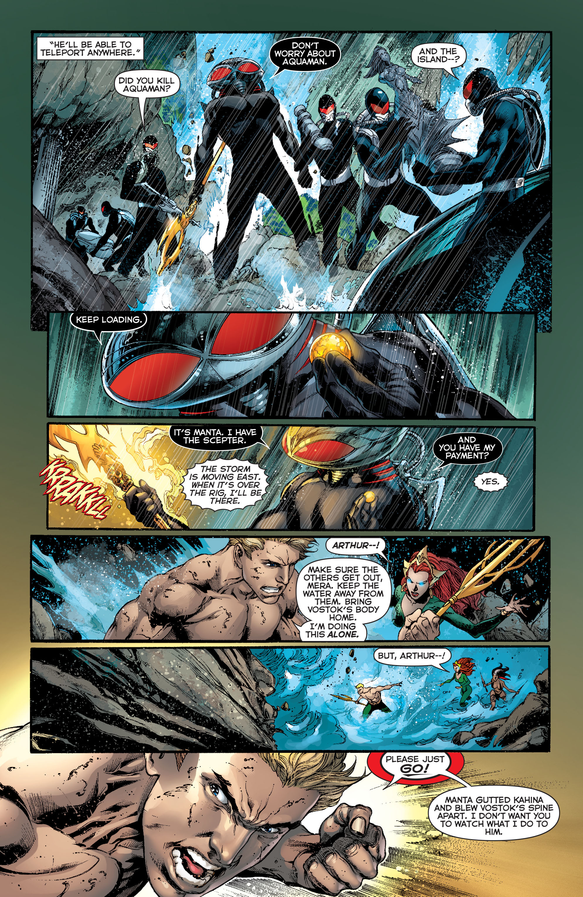 Read online Aquaman (2011) comic -  Issue #13 - 4