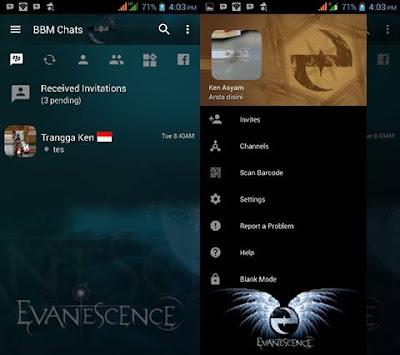 BBM Mod Evanescence v3.2.5.12 APK