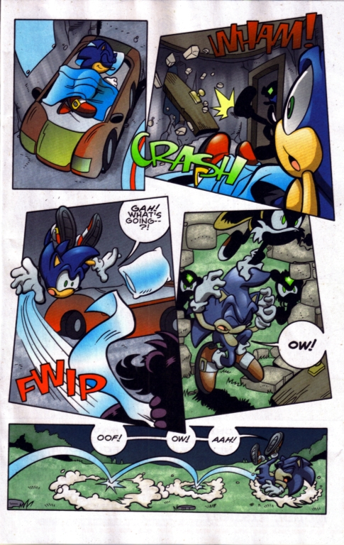 Read online Sonic The Hedgehog comic -  Issue #185 - 14