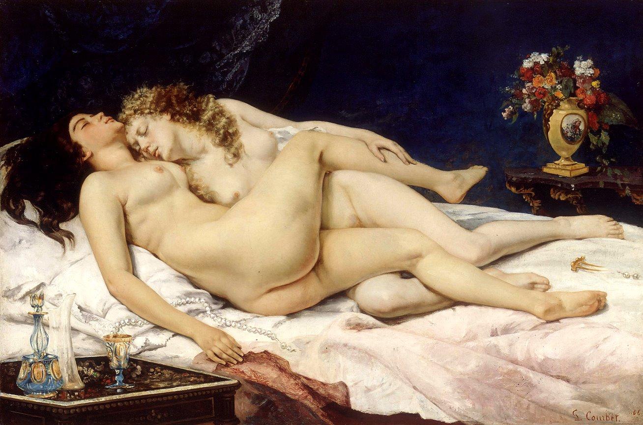 where is ariadne sleeping nude