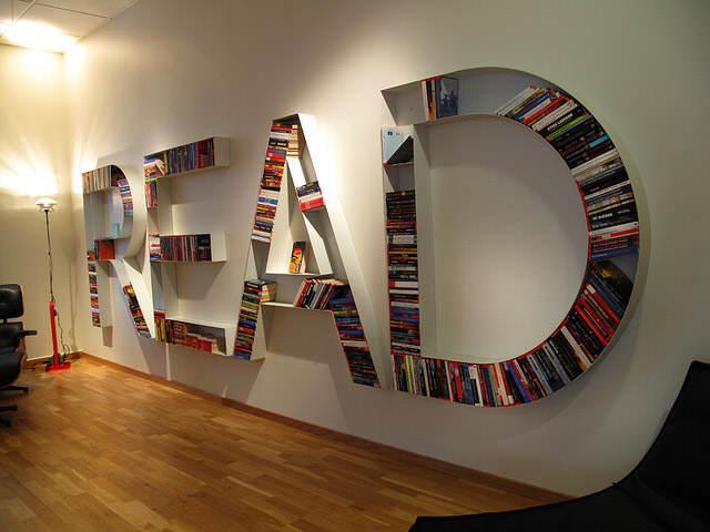 Stylish Modern Creative Unique Bookshelf Design ~ Art Home Design ...
