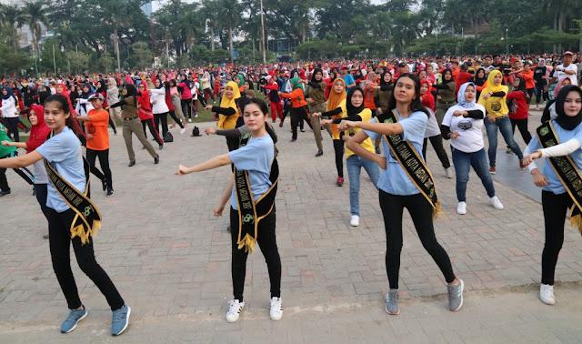 Tari Ahoi Kreasi Baru Jadi Icon Kota Medan