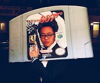 disfraz juego n64 Goldeneye James Bond