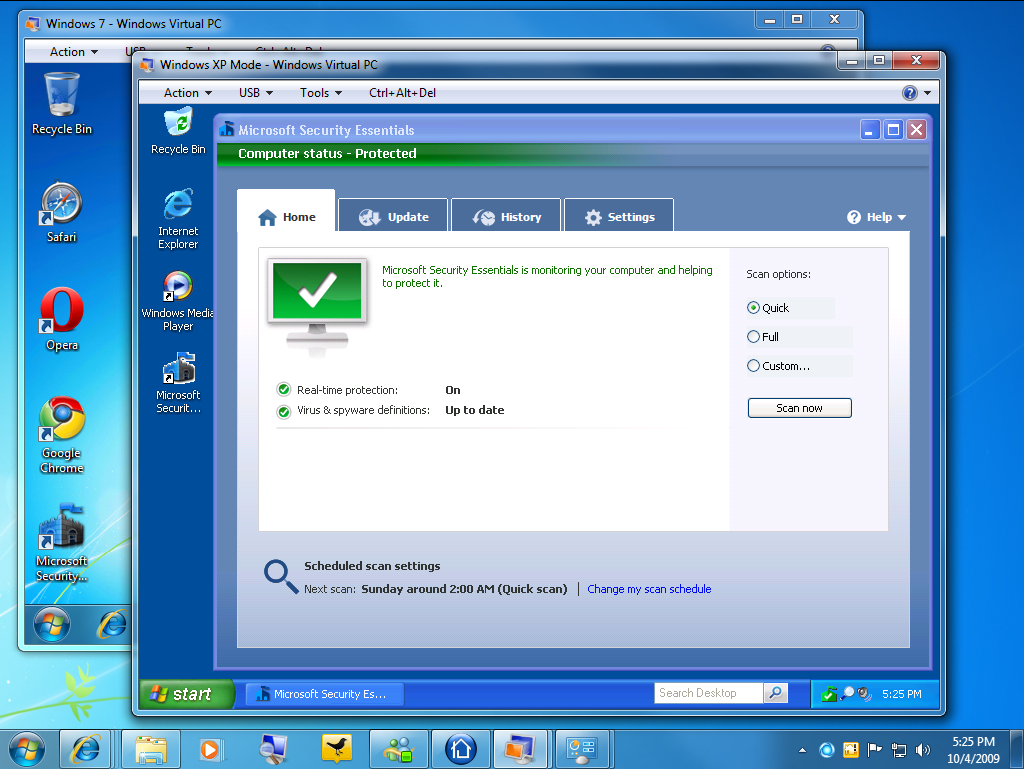 Microsoft Security Essential Windows 7 32 Bits