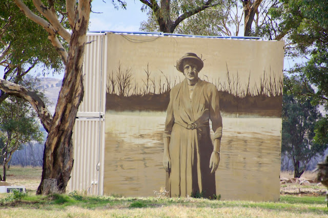 Winton Wetlands Street Art