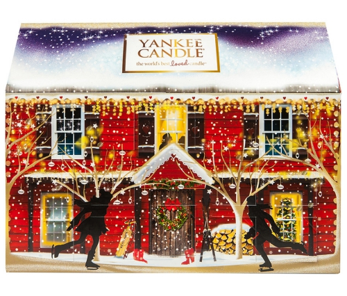 Yankee Candle Advent calendar house 2015