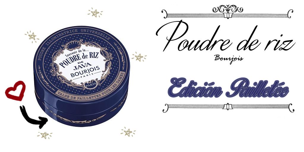 Bourjois Poudre de riz edicion Pailletée