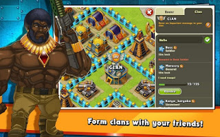 Jungle Heat: War of Clans Apk v1.11.5 (Online)