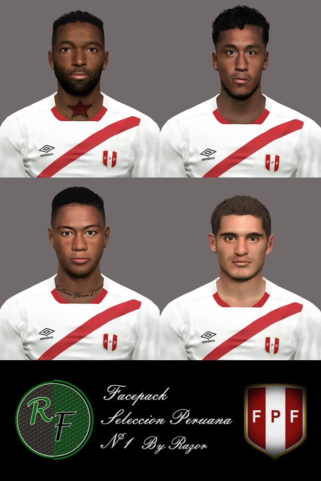 Facepack Selección Peruana N°1
