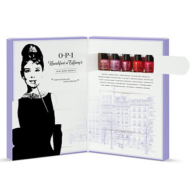 OPI Breakfast at Tiffany's Advent Calendar 2016
