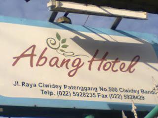 Alamat dan Tarif Hotel Abang Ciwidey Bandung