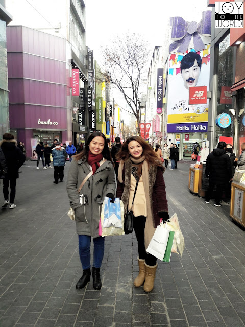 Shopping at MyeongDong