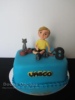 Bolo para o 8º aniversário do Vasco