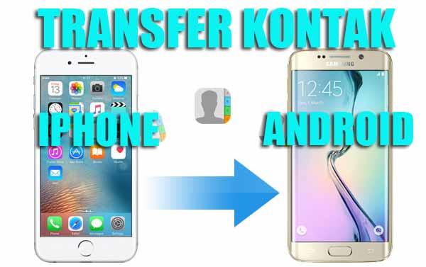 pertemuan kali ini kita akan berguru sedikit mengotak atik Hp iPhone dan Android 3 Cara Praktis Transfer Kontak Iphone Ke Android