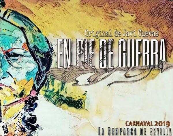"""La comparsa de Javi Cuevas vuelve para el carnaval 2019 y serán """"En Pie de Guerra"""""""
