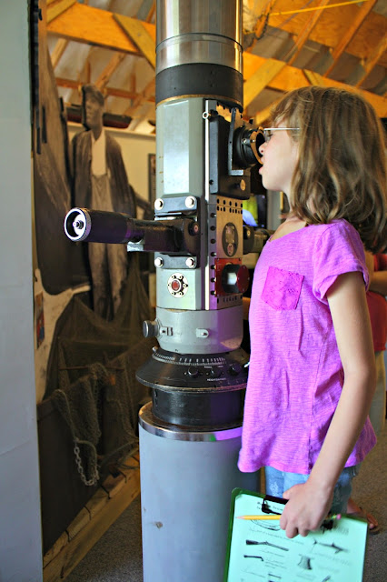 Periscope at Oak Island Maritime Museum