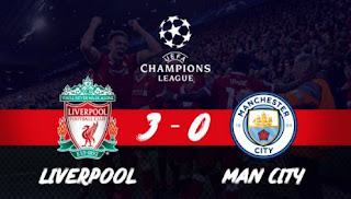 Liverpool vs Manchester City 3-0 Video Gol Highlights Liga Champions