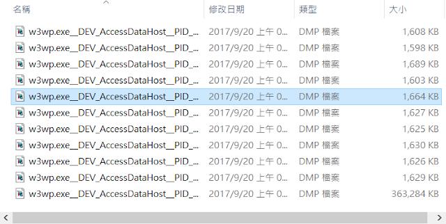 Add Dump Files