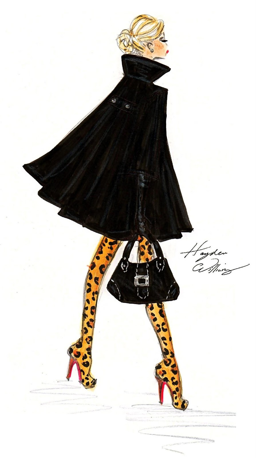Hayden Williams Fashion Illustrations: February 2011