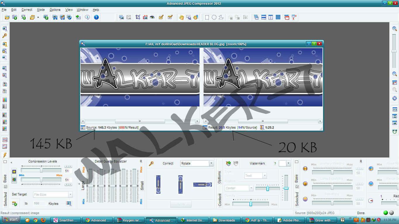 Download Advanced JPEG Compressor 2012
