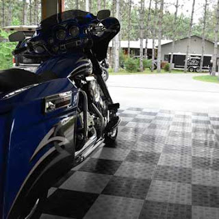 Greatmats motorcycle garage flooring tiles