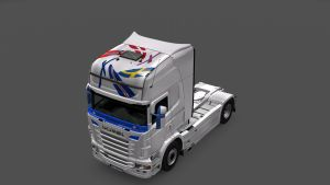 Scandinavia Skin for Scania RJL