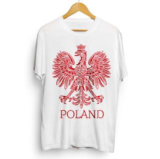 Koszulka z orzełkiem Poland