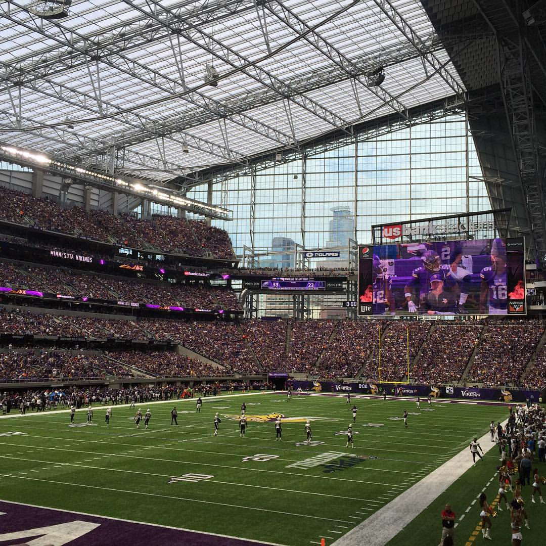 Chargers New Stadium: Vikings Corner: Notebook: Vikings Open U.S. Bank Stadium