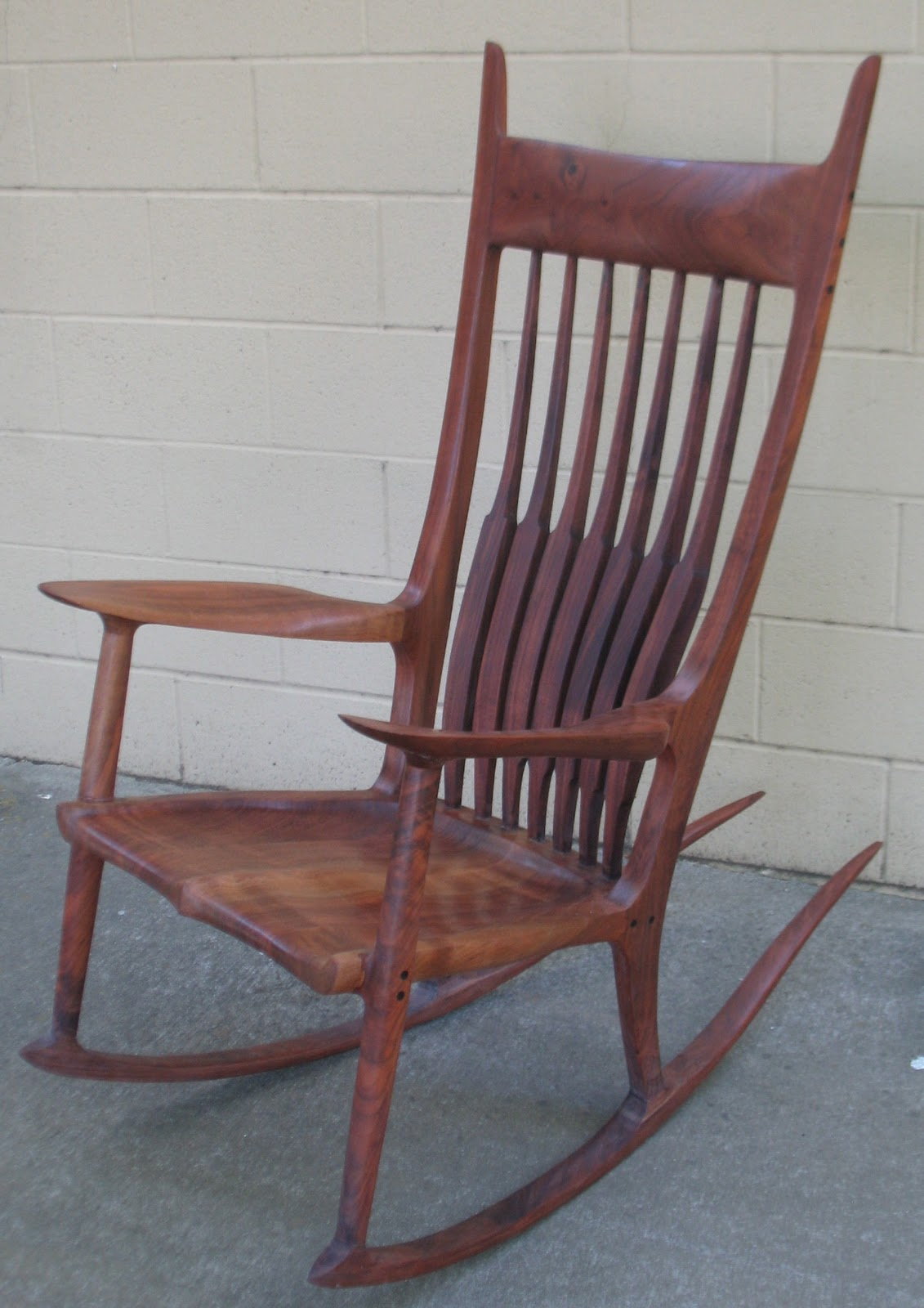 craftsman rocking chair styles best chairs for back pain the maloof style