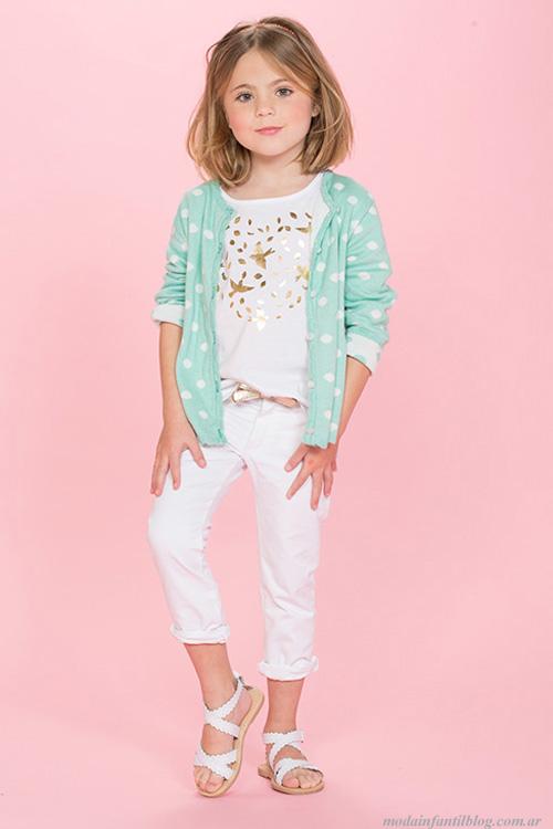 ropa para niñas verano 2014 pioppa