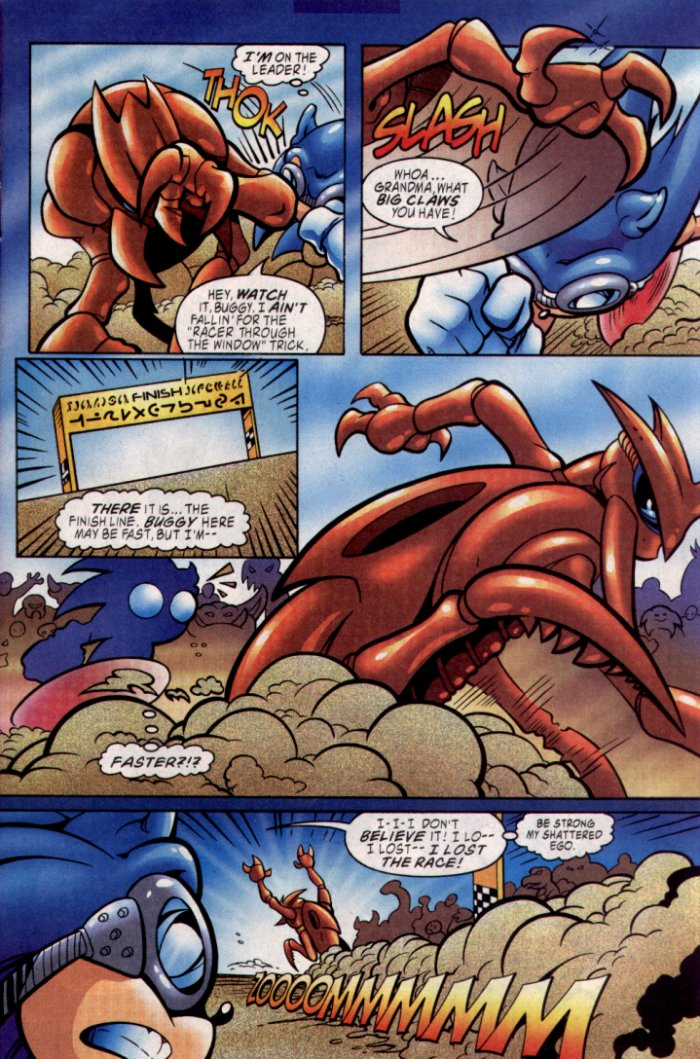 Read online Sonic The Hedgehog comic -  Issue #129 - 6