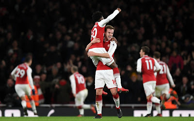 Highlight Arsenal 2-2 Chelsea, 4 Januari 2018