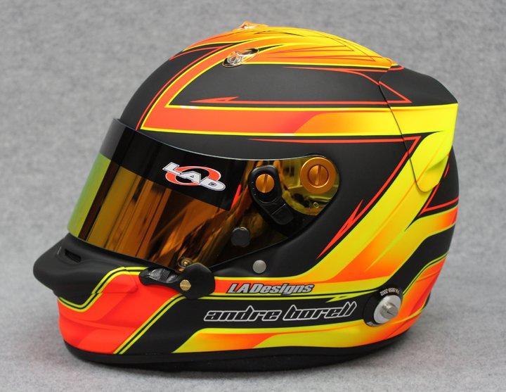 Racing Helmets Garage Arai Gp 5 A Borell By La Designs