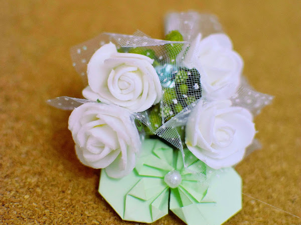 Keriitleto WP : Boutonnière for Wendy's wedding