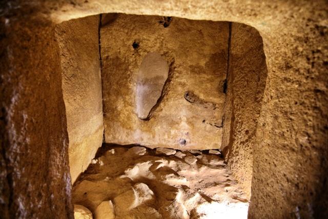 Cámara sepulcral del Dolmen de Viera