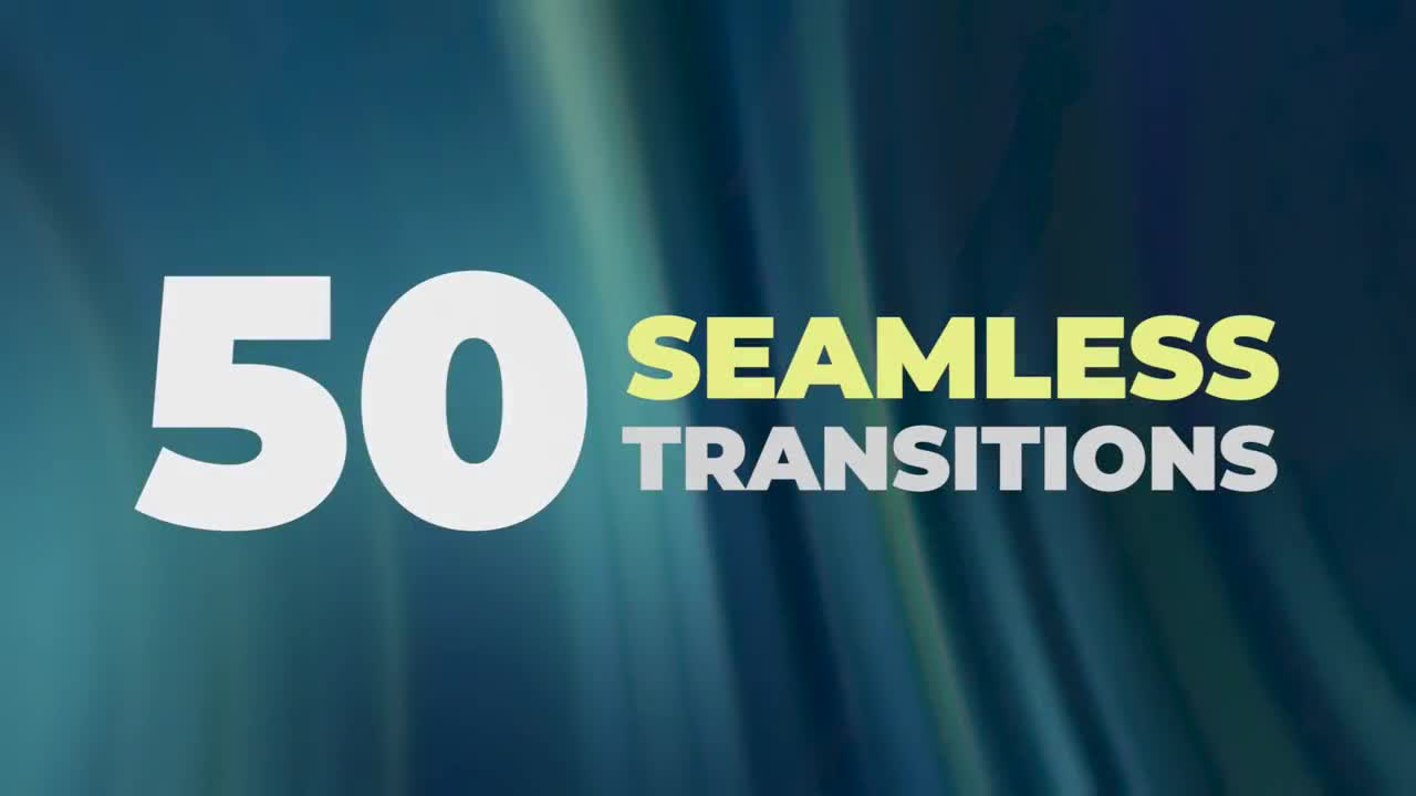Seamless Transitions - Premiere Pro Presets | Motionarray 75542