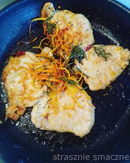 Schab z chilli na pomarańczową nutę