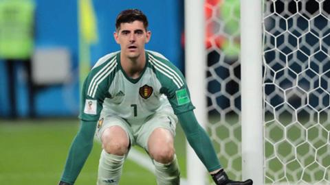 Cầu thủ điển trai Thibaut Courtois