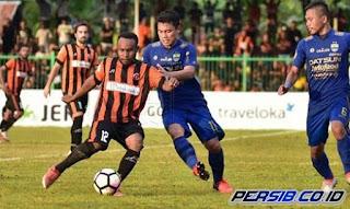 Kalahkan Persib 2-0, Perseru Lolos dari Degradasi