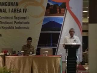 Asdep Pengembangan Destinasi Buka Workshop Pemberian Dukungan Fasilitasi Pembangunan Destinasi Regional I Area IV.