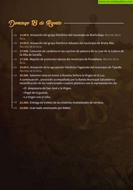 Fiestas de Nuestra Señora de La Luz 2019 en La Villa De Garafía