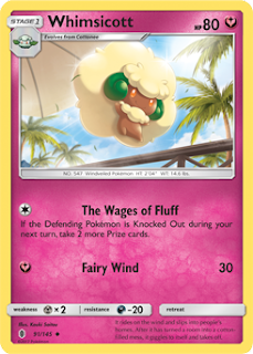 Whimsicott Guardians Rising Pokemon Card
