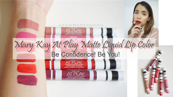Mary Kay At Play Matte Liquid Lip Color | 6 Colors