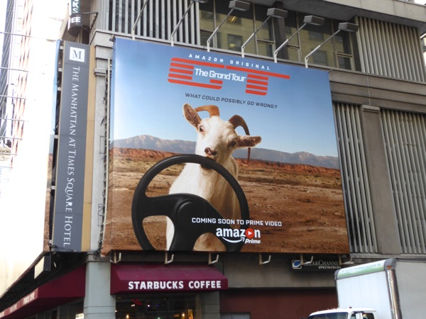 Grand Tour series billboard NYC