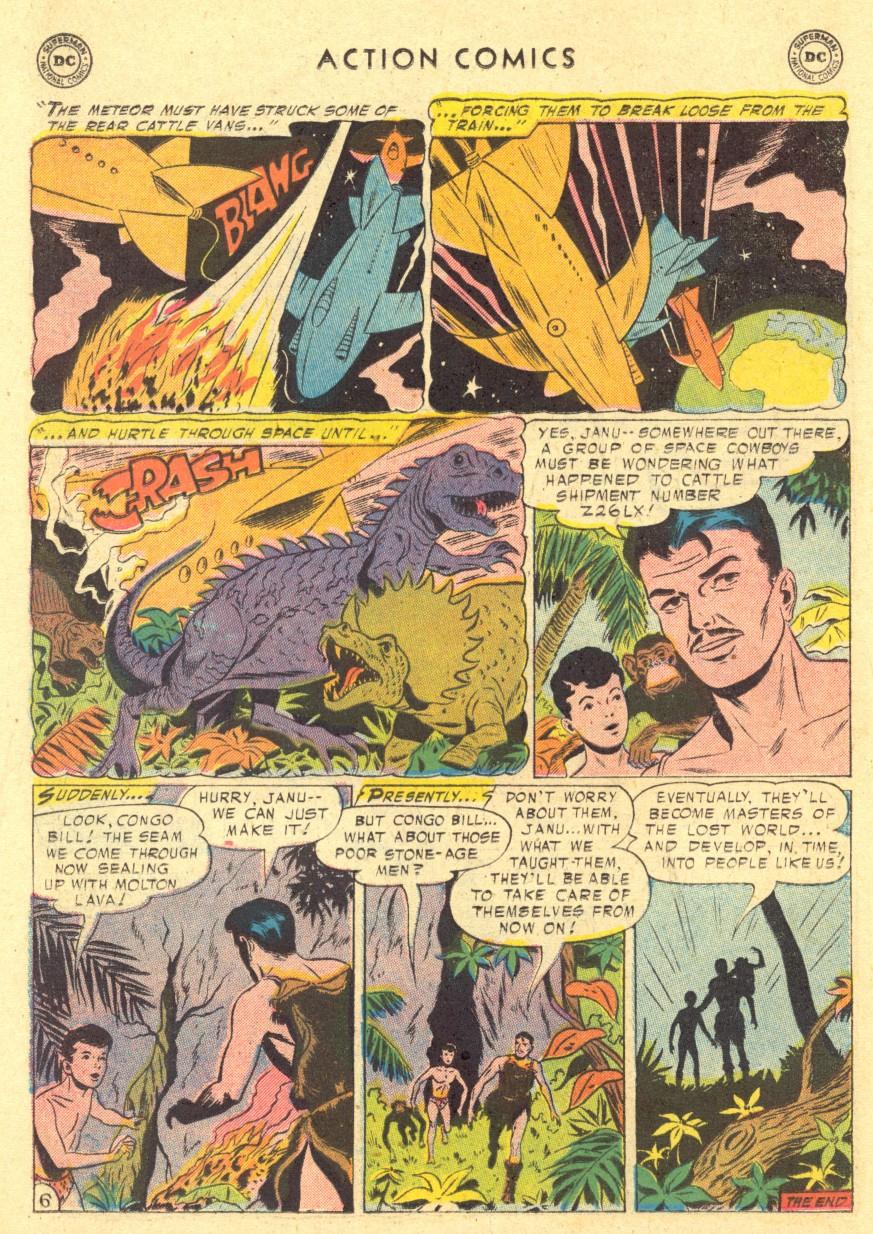 Action Comics (1938) 220 Page 21
