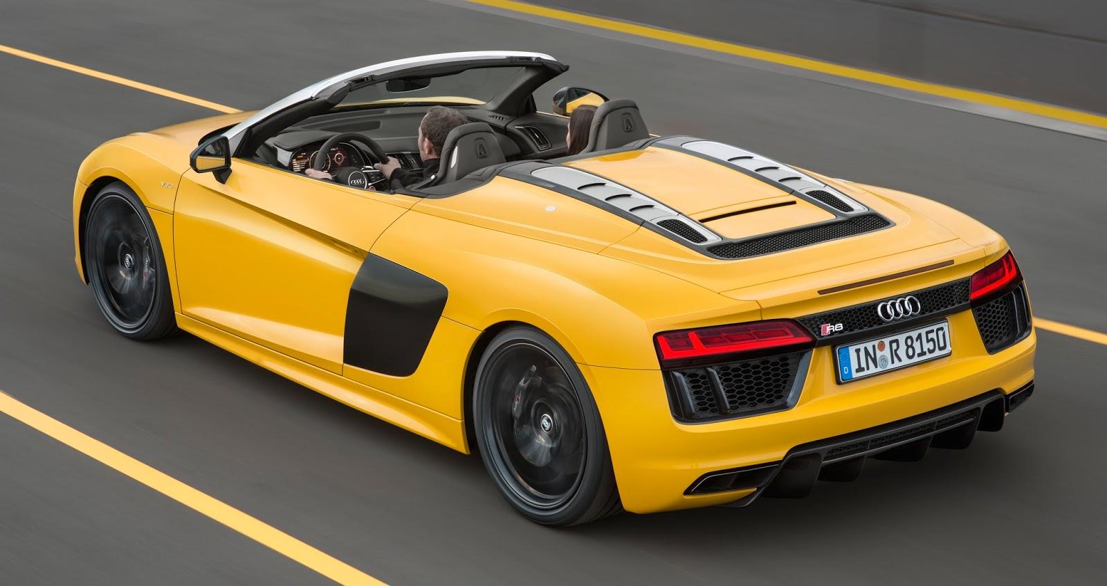 98 Mustang Gt >> Audi revela nova geração do R8 Spyder